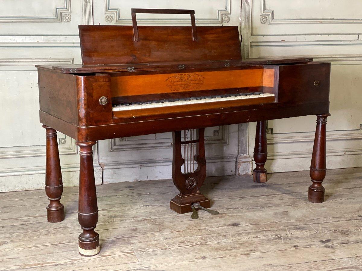 Piano Table, Sébastien Evrard Et Pierre Erard, à Paris Vers 1827