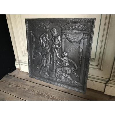 Cast Iron Plate From Chimney