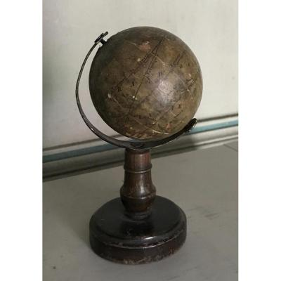 Miniature Globe Carel Klinger, Circa 1860