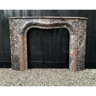 Fireplace Marble Breach Of Waulsort Early Nineteenth Century