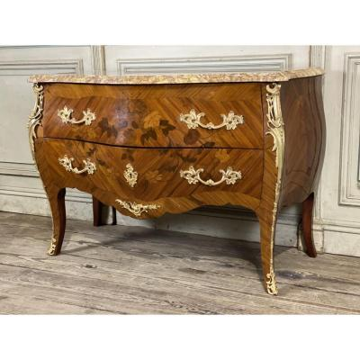 Louis XV Style Sauteuse Commode Circa 1930