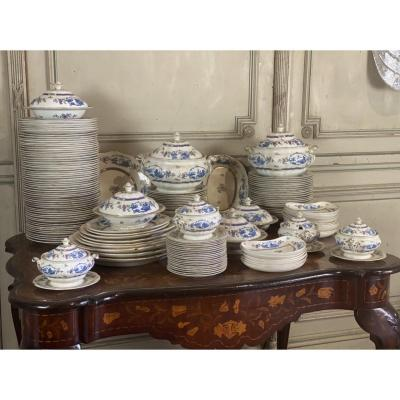 Earthenware Table Service, 155 Pieces, Waring And Gillows, London