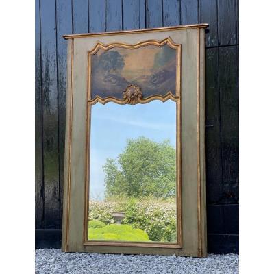 Miroir, Trumeau De Cheminée De Style Louis XV