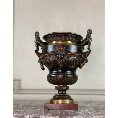 Bronze Vase In The Taste Of The Antique