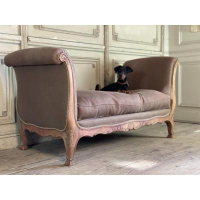 Louis XV Style Rest Bed Or Sofa