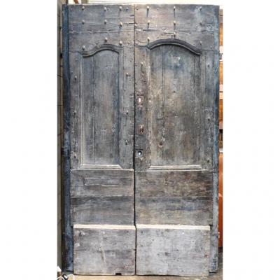 Porte A Deux Battants époque Louis XIV