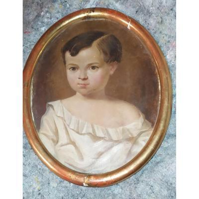 Portrait enfant  XIX