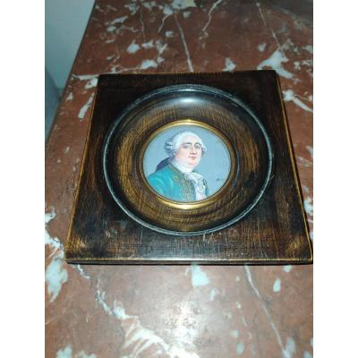 Miniature Sur Ivoire Portrait De Louis XVI