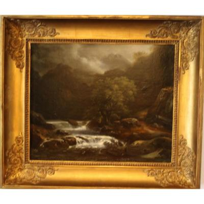 Table (waterfall In A Landscape)
