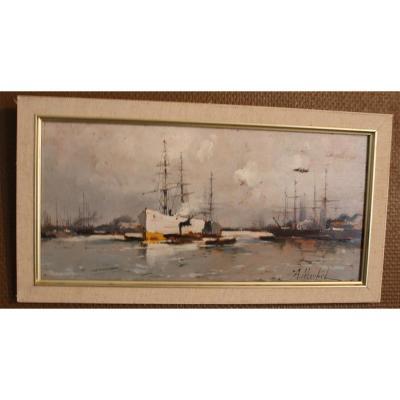 tableau   Eugène Galien Laloue