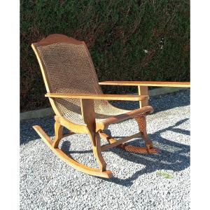 Rocking Chair Said From Planters Late Nineteenth