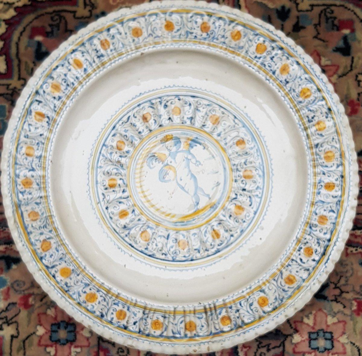 17th Century Majolica Dish
