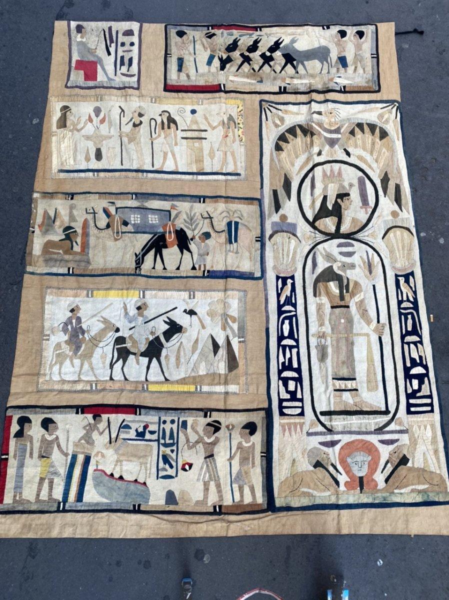 Hanging Egyptomanie Around 1930