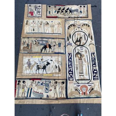 Tenture Egyptomanie Vers 1930