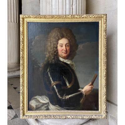 Portrait De Henry De Montmorency, Atelier De Hyacinthe Rigaud Vers 1690