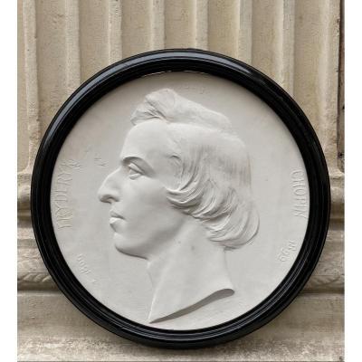 Portrait de Frédéric Chopin, Par Wladislaw Marcinkowski daté 1899