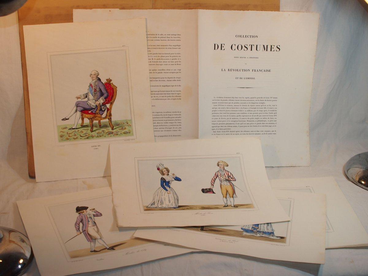 Lithogravures En Couleur Horace De Salviac De Viel Castel (1802-1864) - Livraison 1 De 1844