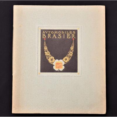 Livret Catalogue Publicitaire - Automobiles Brasier De 1914
