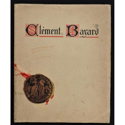 Livret Catalogue Publicitaire - Automobiles Clément Bayard De 1914
