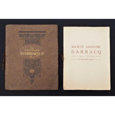Lot Livrets Catalogues Publicitaires - Automobiles Darracq De 1919