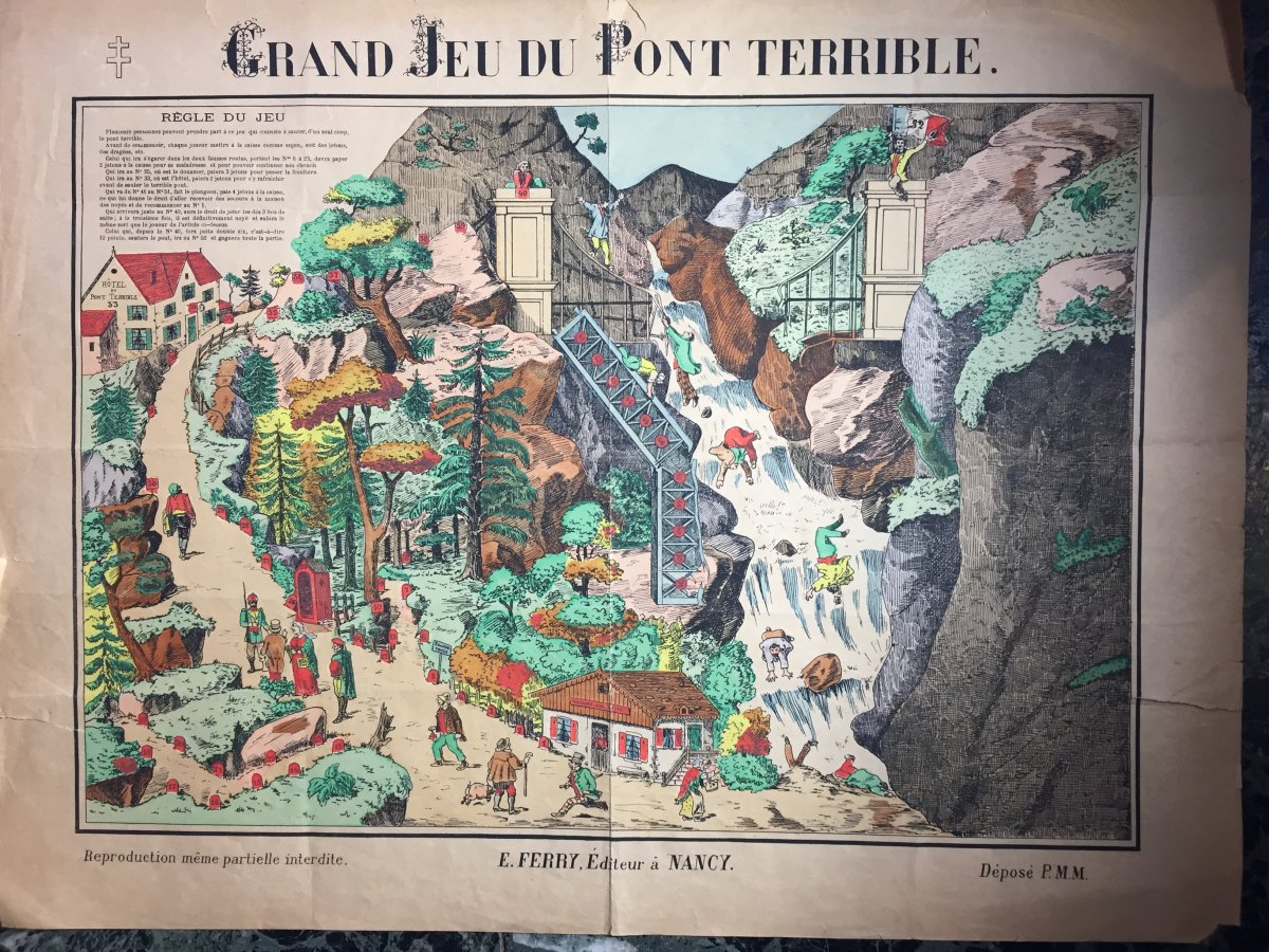 Grand Jeu Du Pont Terrible