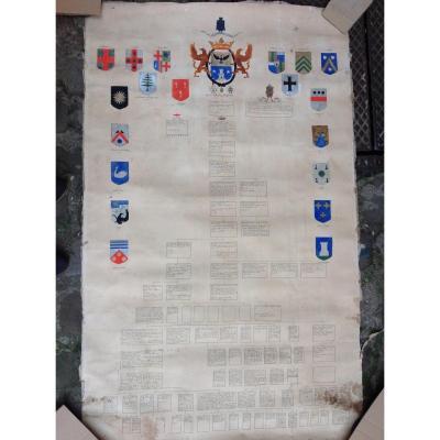 Tableau Généalogique Du Pape Innocent VII
