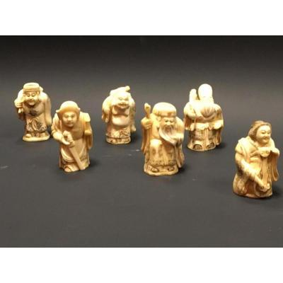 Figurines Chinoises En Os