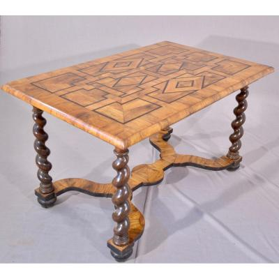 Table en Marqueterie