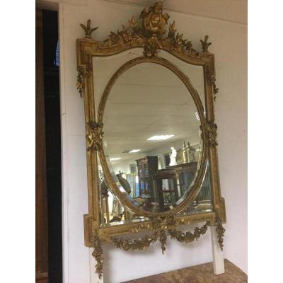 Miroir Doré à Pareclose