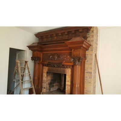 Renaissance Style Fireplace