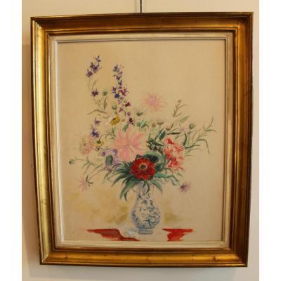 Bouquet de fleurs    A.Dignimont