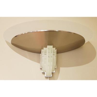 Jean Perzel Pair Of Wall Lights Large Model 542 Bis Design 1970