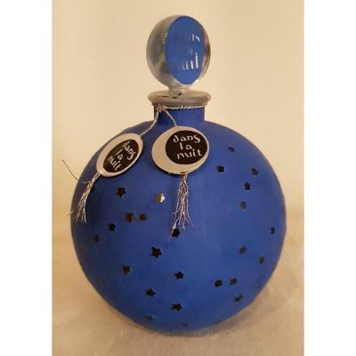 René Lalique  Worth Dans La Nuit Flacon à Parfums Art Déco