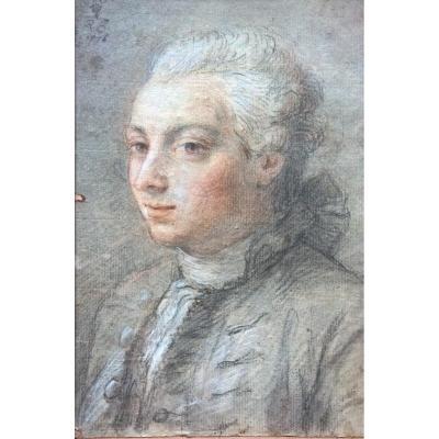 Portrait d'un jeune homme ...
