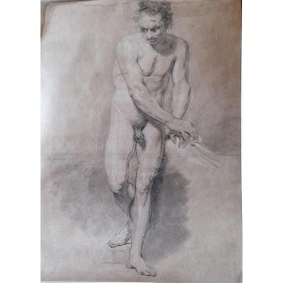 Anatomy Of Naked Man