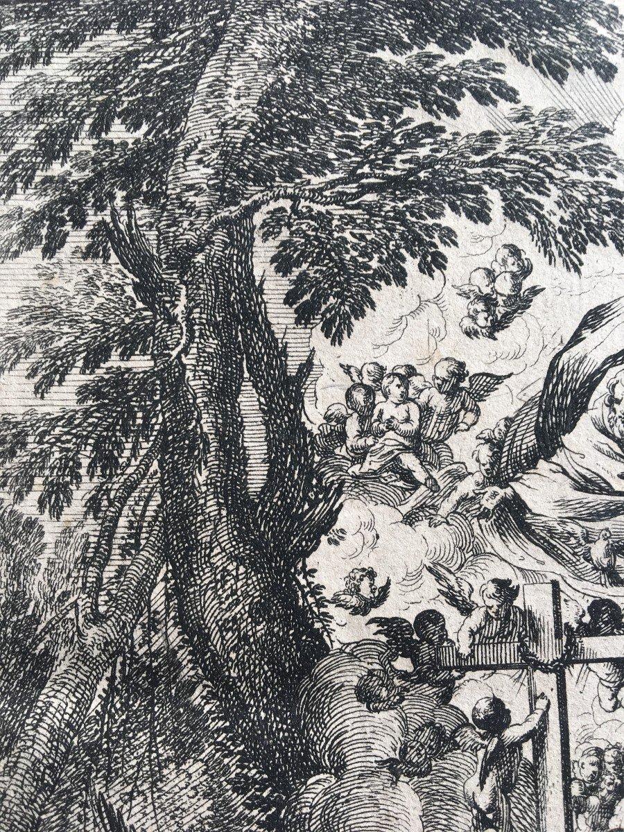 XVII Italian Engraving By Pietro Testa And Nicolas Cochin-photo-4