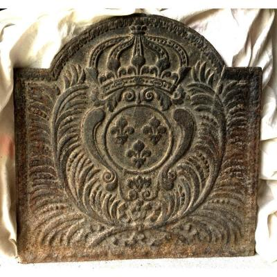 Fireback With  French Royal Coat Of Arms  XVIII