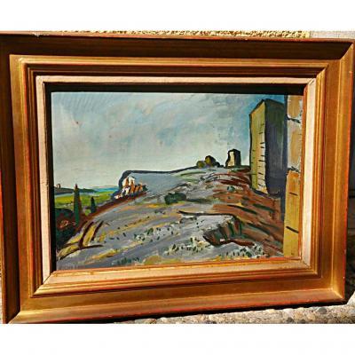 """Auguste Chabaud    """"vue Sur La Plaine"""""""