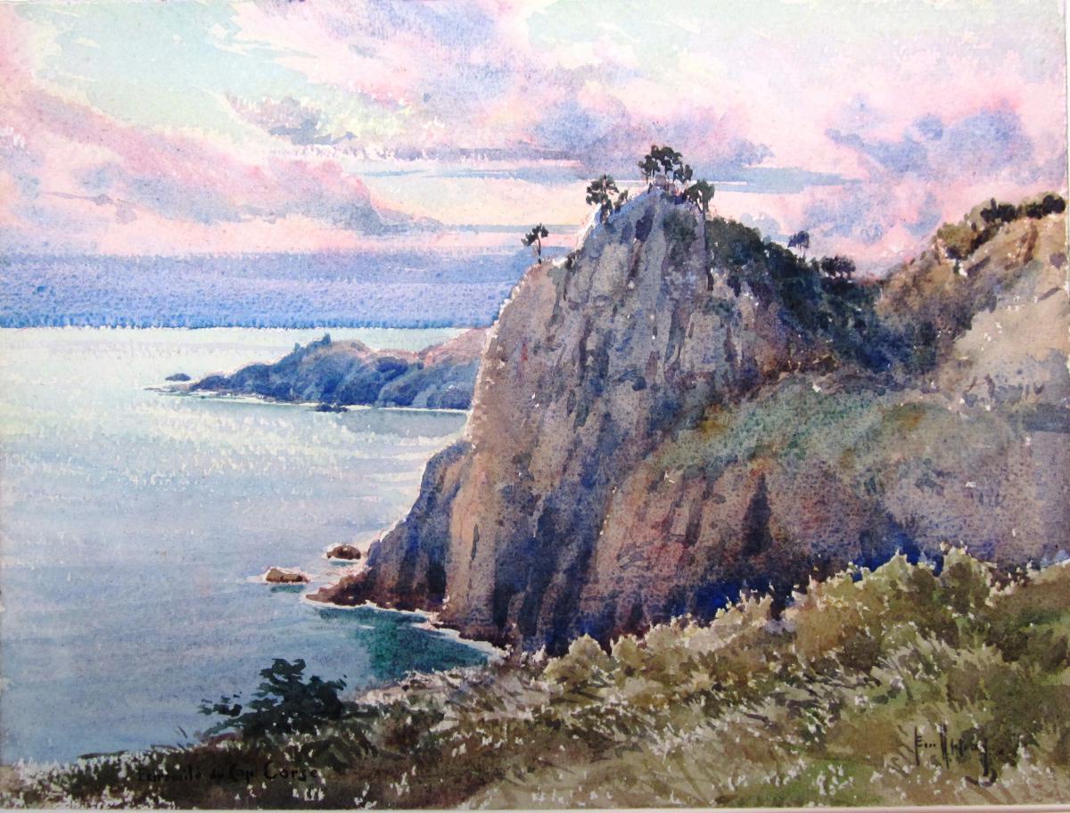 Emile Appay 1876-1935 End Du Cap Corse
