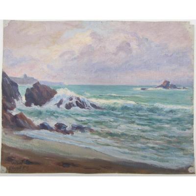 Charles Wislin 1852-1932 St Malo Depuis St Enogat