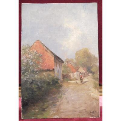 Iwill Léon Clavel Dit 1850-1923 Rue d'Un Hameau