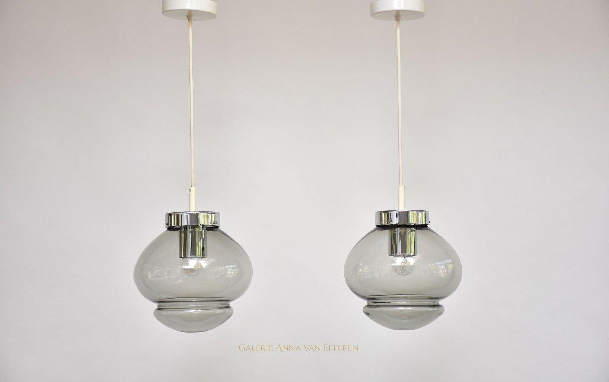 A Pair Of Raak Amsterdam Pendant Lights