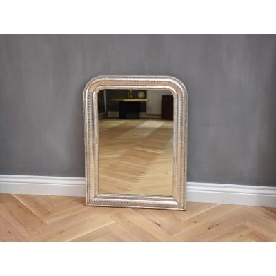 Miroir Louis Philippe, Feuille Argentée