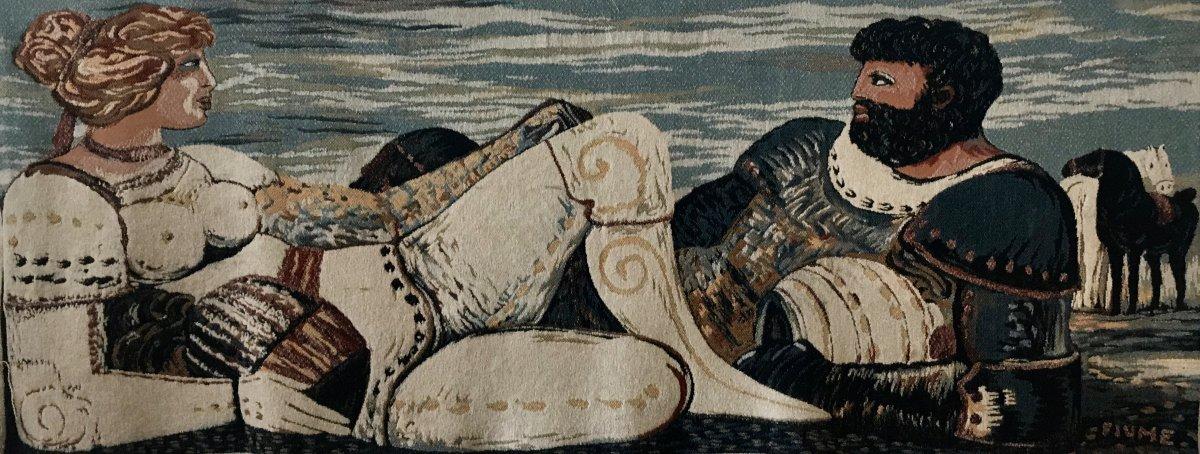 Salvador Fiume, Tapisserie Vers 1940