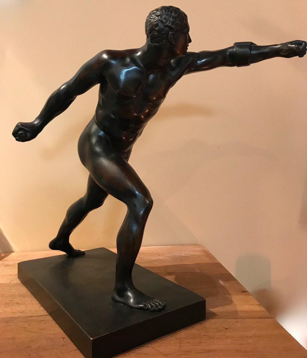Bronze à l'Antique, Le Gladiateur, édition Du Louvre -photo-3