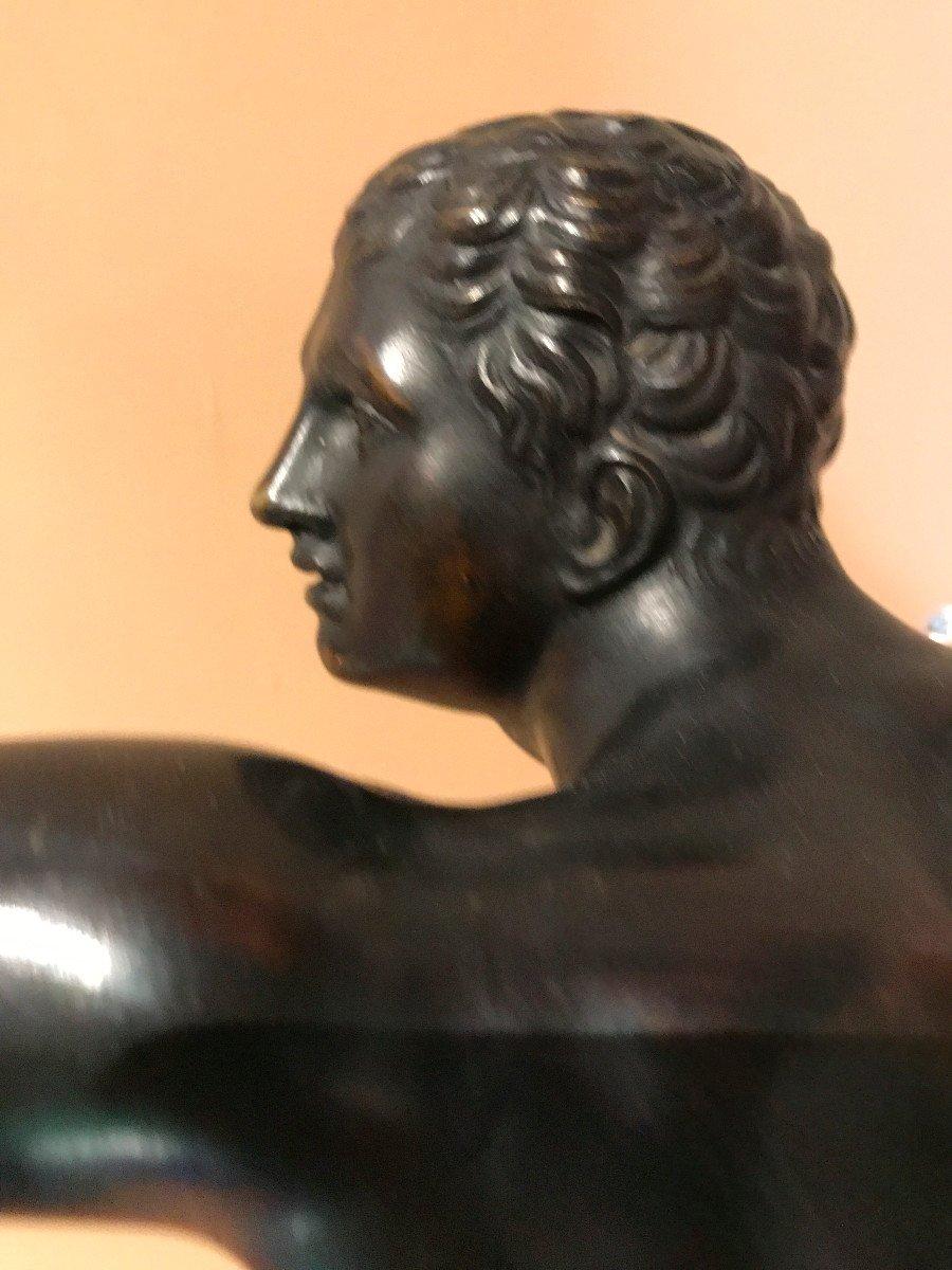 Bronze à l'Antique, Le Gladiateur, édition Du Louvre -photo-4