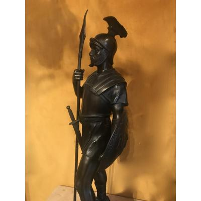 Bronze, Roman Soldier, Around 1930