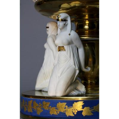 Paris Porcelain, Table Sourtout Aux Egyptiennes, Dagoty