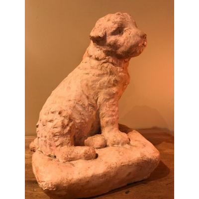 Marguerite Monot, Terracotta Sculpture, Puppy