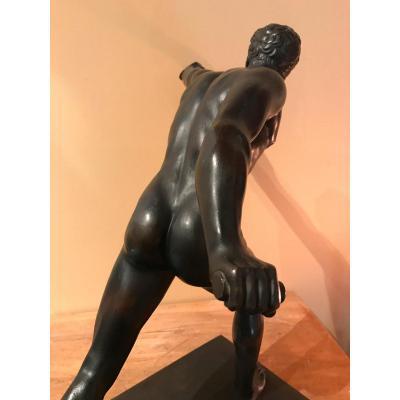 Bronze à l'Antique, Le Gladiateur, édition Du Louvre